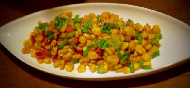 Crispy American corn