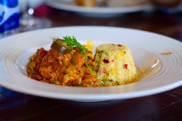 Vegetable tagine with Cous-Cous